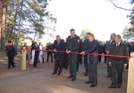 Голова Держагентства лісових ресурсів України Віктор Сівець відкрив нову лісову дорогу на Житомирщині