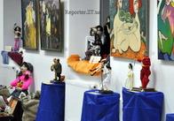 В Житомире в «Кавомании» открылась салон-выставка авторских кукол