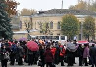 В Житомире предприниматели устроили митинг против нововведений в налоговом законодательстве (фоторепортаж, опрос)