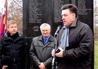 Олег Тягнибок відвідав Житомирщину. Відео. Фото