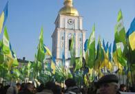 Майже тисяча житомирян виступили проти Януковича у Києві. ФОТО