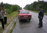 Водитель поспешил развернуться. ДТП на автодороге Киев - Чоп.