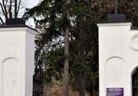 Житомирские студенты убрали Польское кладбище (фото)