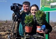 Журналісти Житомира і Новограда посадили гектар лісу