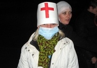 «DozoR» в Житомире! 13 ноября Скорая помощь подкреплялась фаст фудом (фоторепортаж)