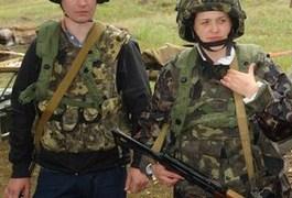 На Житомирському полігоні журналісти захищали Батьківщину
