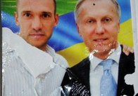 Футболіст Андрій Шевченко відхрещується від листівок, де він рекламує кандидата-мажоритарника Журавського