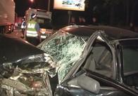 Через ремонт дороги на Київській трасі маршрутка з пасажирами потрапила у страшну аварію: фото