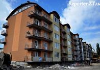 """У Житомирі компанія """"Фаворит"""" добудовує дві п'ятиповерхівки сучасного житлового комплексу. Фото"""