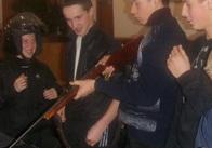 Школьники сходили на познавательную экскурсию в отделение милиции (фото)