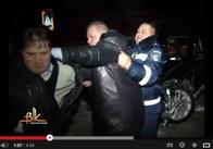 """У Бердичеві учасник аварії накинувся на оператора телеканалу """"ВІК"""""""