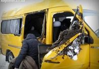 Автобус із пасажирами перекинувся на Житомирщині. ФОТО